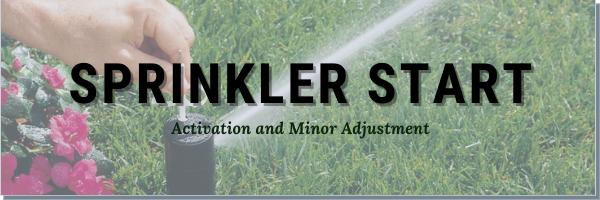 Sprinkler Activation