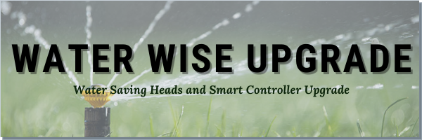 Water Wise Sprinkler Upgrade